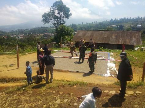 Kegiatan Kecamatan Kalikajar dalam memutus penularan Covid-19