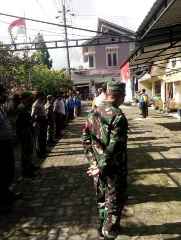 Kegiatan Check Point Operasi Masker Gugus Tugas Kecamatan Kalikajar